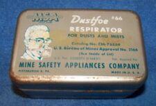 Dustfoe Respirator #66 tin box
