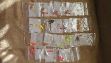 1 Lot of 18 New Spinner Baits-Individually Tied & Packaged  Different Colors