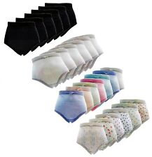 New Ladies Multi-pack Full Mama Underwear Lingerie Briefs Cotton Rich Knickers