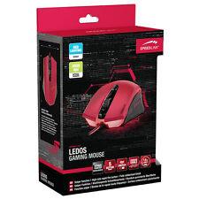 Speedlink Ledos 3000dpi Optical Gaming Mouse Red