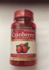 Holland & Barrett Triple Strength Cranberry Concentrate +Vitamin C+E 100 Tablets