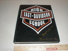 2005 East Davidson county High School yearbook Thomasville NC harley Motorcycle