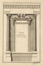 Originaldrucke (bis 1800) mit Architektur für Radierung