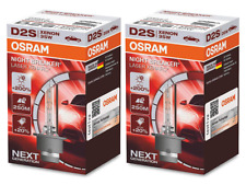 D2S - OSRAM HID Xenon Bulbs Night Breaker Laser (NBL) +200% (2 pack) 66240XNL