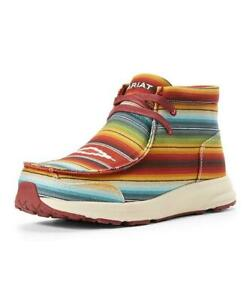 New Ariat Old Muted Spitfire Serape Chukka Ankle Boots Striped Southwest Western