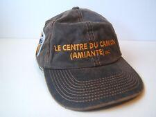 Le Centre Du Camion Amiante International Truck French Hat Brown Strapback Cap