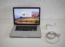 "Apple MacBook Pro 15.4"" computadora portátil a mediados de 2014 con Retina 16GB Ram 480GB SSD"