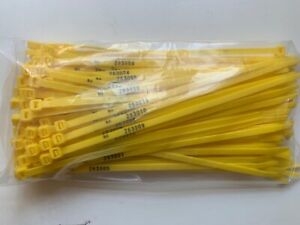 Sequentially Numbered Plastic Nylon 200mm Cable Ties Tamper Evident