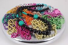LOT OF VARIOUS MARDI GRAS BEADS FASHION NECKLACES COSTUME 1944B
