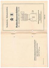 Bedienungsanleitung vom Harzer Kolbenkompressor