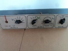 1 EA USED COMPASS SYSTEM TEST PANEL USED ON AN/ARN-6 TEST EQUIP. P/N: 81069