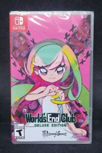 World's End Club Deluxe Edition (Nintendo Switch) BRAND NEW