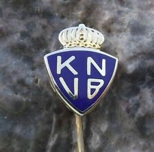 Antique Royal Dutch Football Association Holland KNVB Soccer Crest Pin Badge