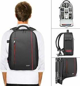 Neewer Camera Case Backpack Bag Waterproof with Tripod Holder / External Pocket