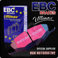 EBC ULTIMAX FRONT PADS DP108 FOR LOTUS ECLAT 2.2 (ALLOY WHEELS) 80-85