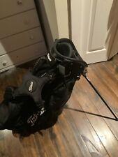 TITLEIST GOLF STAND CARRY BAG 6-WAY TOP RAIN COVER LIGHTWEIGHT BLACK