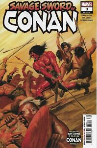 Conan Comic 3 Savage Sword Cover A Alex Ross First Print 2019 Duggan Garney