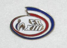 D24 PIN BADGE RUGBY CLUB  FRANCE ROOSTER RARE FOOT   free ship on all add pins