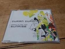 DURAN DURAN - SUNRISE -  PROMO CD !!!!!!!!!! RARE CD