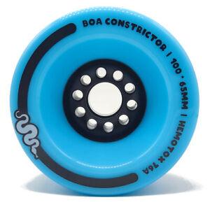Boa Constrictor 100mm 83a Bambino Blue - Longboard/Elektroboard Rotoli