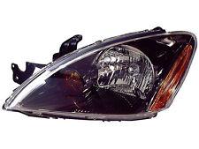 Lancer Oz Rally Ralliart 04 05 06 07 Black Headlight Lh
