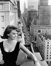 NATALIE WOOD PHOTO fantastic busty balcony photograph