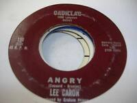 Jazz Vocal Detroit 45 LEE CARON Angry on Cadillac