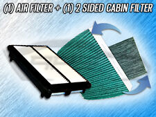 AIR FILTER HQ CABIN FILTER COMBO FOR 2010 2011 2012 2013 ACURA MDX- 3.7L ONLY