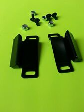JEEP CJ  YJ WRANGLER SOFT DOOR STRIKER BRACKETS R&L '76-'95 w/mounting hardware
