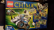 LEGO Legends of Chima  66491 Super-Pack 5 in 1 NEU 70126 70128 70130 70129 70131