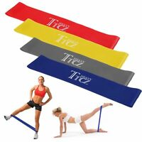 Workout Resistance Bands Loop CrossFit Fitness Yoga Booty Leg Exercise Band