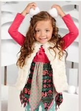 NWT In Bag Matilda Jane Outfit Size 8 Snow Queen Vest/Winding Road Tunic Set New