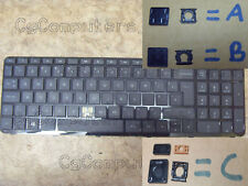 HP PAVILION 15 15-N 15-N2 15-E 15-H  SELLING BLACK KEYS 3 CLIP TYPES CHECK PIC'S