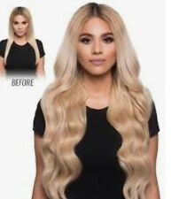 human hair, clip in hair extensions, Russian double drawn