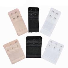 6pcs Womens Soft Comfortable Bra 2 & 3 Hooks Extender Strap Adjustable Extension