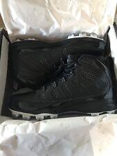 Nike Air Jordan 9 IX MCS Retro Cleats Black Re2pect Baseball AA1264-011 NEW 13