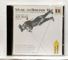 AKADEMIE FUR ALTE MUSIK BERLIN - Music at the Berlin Court BERLIN CLASSICS CD NM