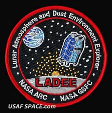LADEE Lunar Atmosphere and Dust Environment Explorer NASA SATELLITE SPACE PATCH