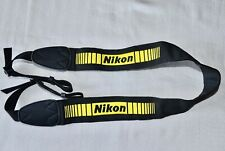 NIKON  GENUINE  SHOULDER NECK STRAP  ( EMBROIDERED) USED*N74D**