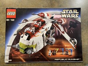 LEGO Star Wars 7163 Republic Gunship Instruction Manual