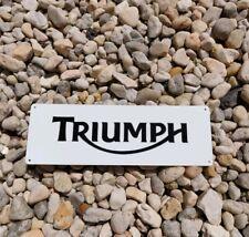 Triumph Motorcycles Motorbike Garage DEALER SERVICE METAL SIGN 4x12 50196