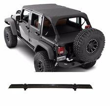 Smittybilt Extended Top & Header Channel Set 2010-2017 4dr Jeep Wrangler JK