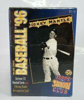 1996 Stadium Club MICKEY MANTLE Set * Yankees 113 cards set 1-A