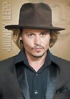 POSTER ~ JOHNNY DEPP SUIT & HAT PORTRAIT