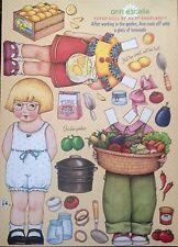 Mary Engelbreit Mag. Paper Doll, Ann Estelle, Aug/Sep 2007, Uncut