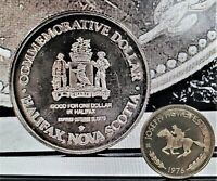 1976 Joseph Howe Festival Commemorative Dollar Halifax, Nova Scotia Uncirculated