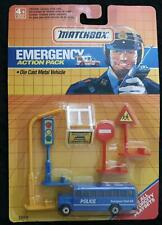MATCHBOX EMERGENCY ACTION PACK - FITS ALL MOTORCITY PLAY SETS - NEW in BLISTER