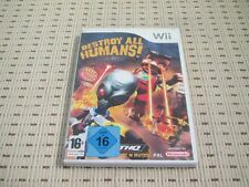 Destroy All Humans Big Willy Entfesselt für Nintendo Wii und Wii U *OVP*