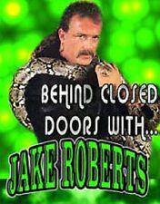 Jake The Snake Roberts Behind Closed Doors DVD, WWF WWE