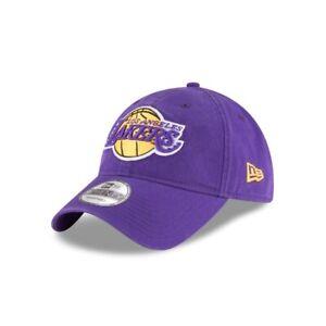 Los Angeles Lakers LA New Era 9TWENTY NBA Adjustable Strapback Dad Cap Hat 920